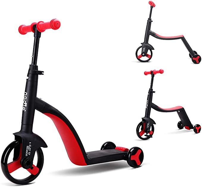 GPAN 12 Bici Bicicleta de Balance Equilibrio, 3 en 1 Un Bici ...