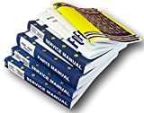 Ford 3400 3500 4400 4500 Tractor Loader Backhoe Service Repair Shop Owners Operators Parts Manuals 1965 to 1975 Models includes 7 Volumes