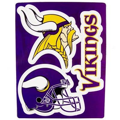 UPC 681329869662, NFL Minnesota Vikings 2009 6 Magnet Sheet, Purple