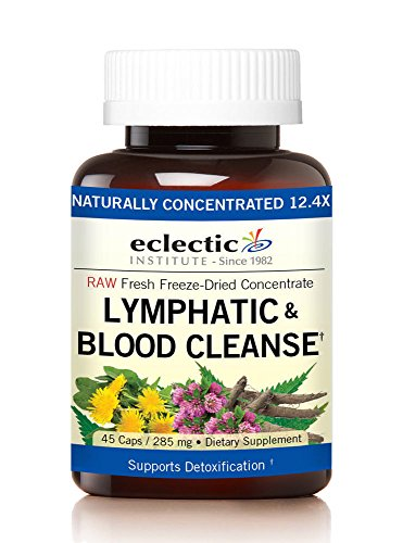 Eclectic Lymph & Blood Cleanse Fdcv, Blue, 45 Count (Nettle Freeze Leaf Dried)