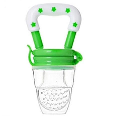 JUNGEN Multifuncional Bebé Chupetes de Calmar a Chupete de Seguridad Silicona de Plástico Verde