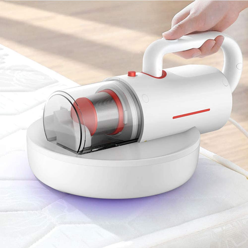 LIBWX UV Vacuum Cleaner, 12Kpa Powerful Suction with Concealed Telescopic Handle, Effectively Clean up Mattresses, Pillows, Curtains, Sofas and Carpets