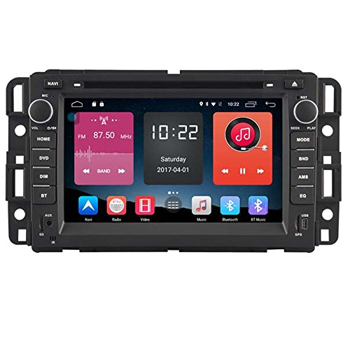 Witson Quad Core 16GB Android 6.0 for GMC (07-12 Acadia,sierra and Yukon, 10-12 Savanna Van, 08-10 Hummer H2, 07-10 Saturn Outlook and 08-10 Vue) In Dash Touch Screen Car DVD GPS Navigation SWC
