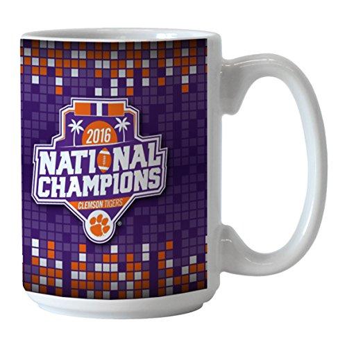 NCAA Clemson Tigers 2016 National Champions Sublimated Coffee Mug, 15-ounce