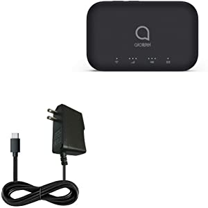 Alcatel LINKZONE 2 Mobile Hotspot Charger, BoxWave [Wall Charger Direct] Wall Plug Charger for Alcatel LINKZONE 2 Mobile Hotspot
