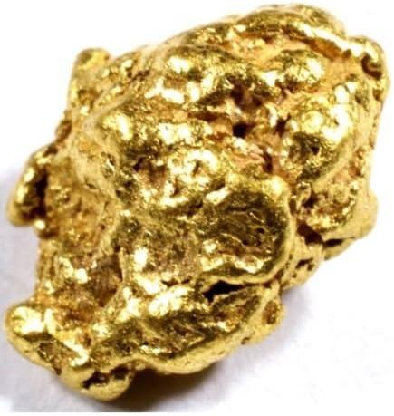 #B080 .080 2 GRAMS ALASKAN YUKON BC NATURAL PURE GOLD NUGGET HAND PICKED