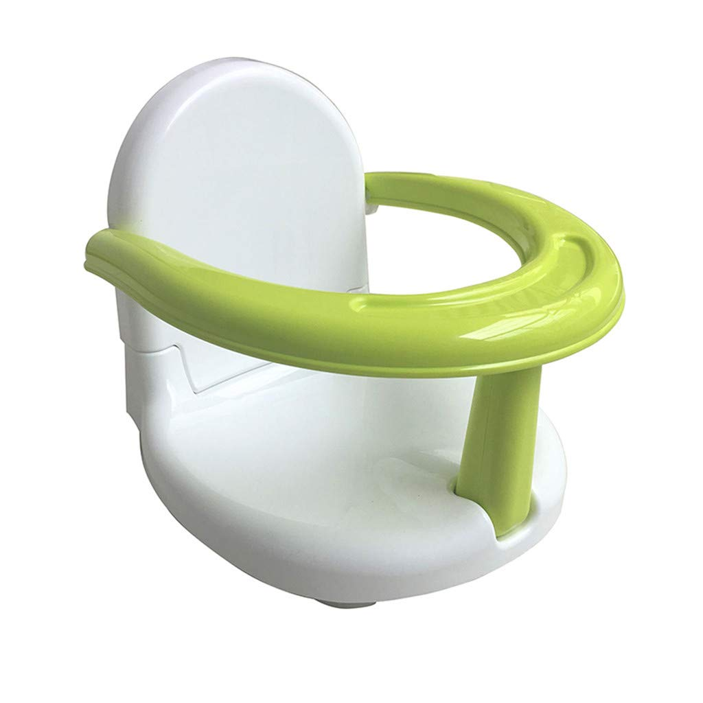 serryNICE Multifunctional Baby Bathtub Toy Chair, Circle Folding Non-Slip Safety for Kids Toddlers Babies (Green) by serryNICE