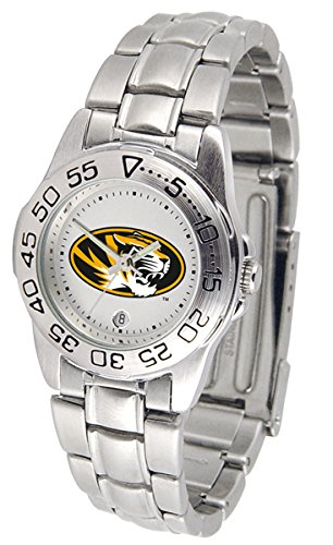 - NCAA Missouri Tigers Ladies Gameday Sport Watch with Stainless Steel Band
