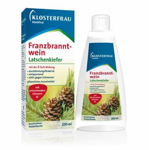 1 x Klosterfrau Franzbranntwein Latschenkiefer (Pine Joint rub) 200 ml rub