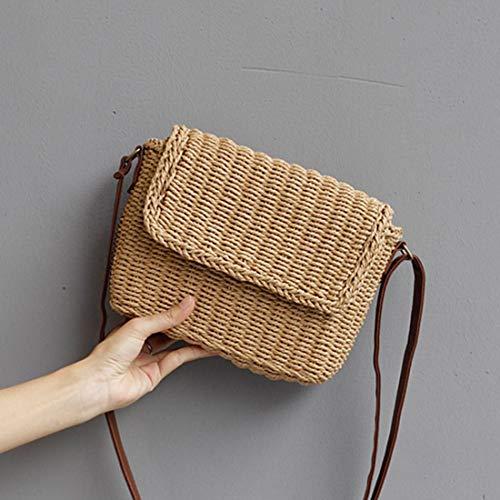 marron capacité femmes de marron Diagonal couleur grande Sac bandoulière cuir Magai beige en pour Magai 11ZC6q