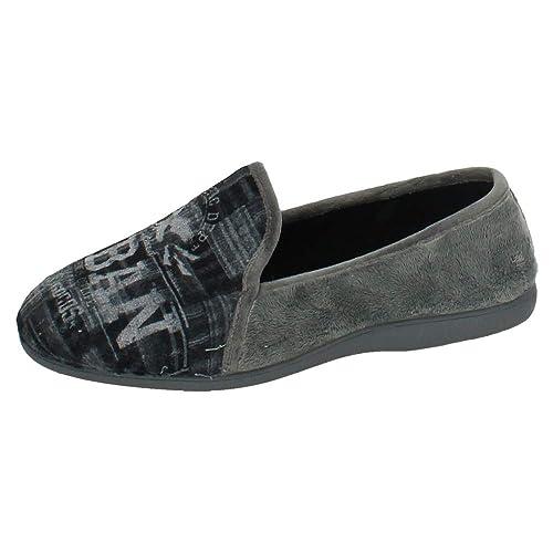 MORANCHEL 9323 Zapatilla Urban Gris Hombre Zapatillas CASA: Amazon.es: Zapatos y complementos