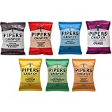 Pipers Crisps Mixed Flavours 40g Bags Box of 24