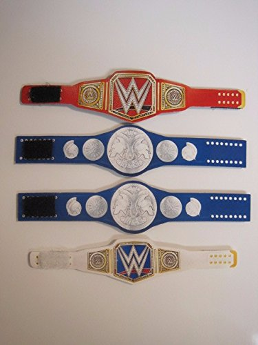 Custom Wrestling belts action figures
