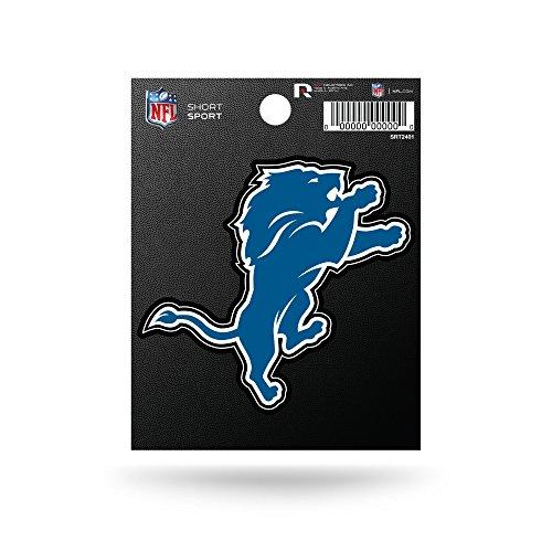 Rico Industries NFL Detroit Lions Die Cut Team Logo Short Sport Sticker