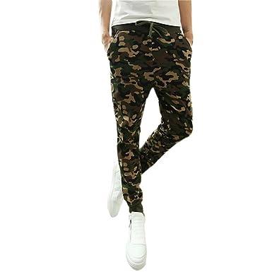 19efbdf9a1f9d ❉ Pantalon Camouflage Pantalons De Sport Pantalons Chino Pantalons Jogging  Pantalon Fitness Pantalons Décontractés Mode Skinny Mince Pantalons ...