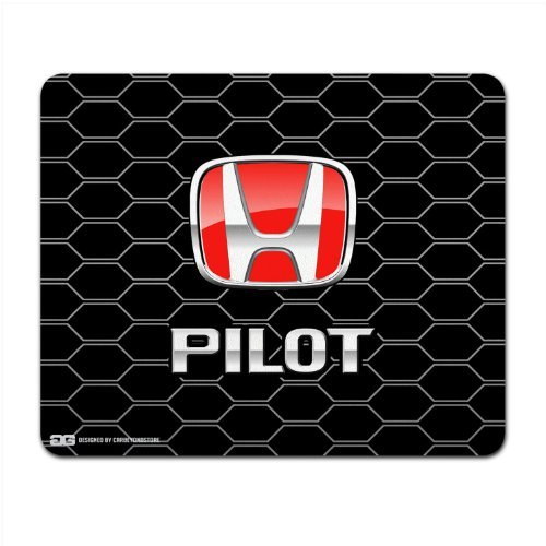 honda-pilot-red-logo-honeycomb-grille-computer-mouse-pad