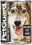 PetGuard Vegetarian Fest Dinner Dog Food, 13.2 Ounce (Pack of 12) For Sale