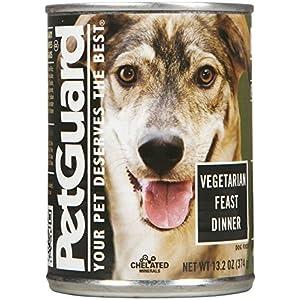 PetGuard Vegetarian Feast Dinner Wet Dog Food, 13.2-oz, case of 12