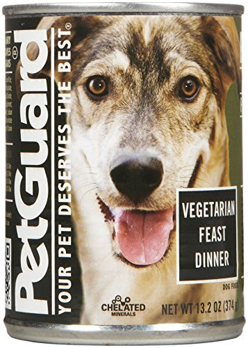 PetGuard Vegetarian Fest Dinner Dog Food, 13.2 Ounce (Pack of 12)
