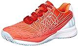 Wilson Women's KAOS 2.0 SFT Tennis Shoe (Fiery Coral/White/Blue Curacao, 7.5 M US)