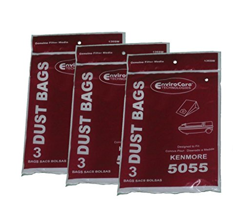 Bag Number - Kenmore 5055 50558 Type C Sears Canister Tank Vacuum Bags 609226 02050002000 50104 50012 Panasonic C-5 MC-V150M C-19 MC-V295H V9644 V9634 CG901 CG983, Progressive, Intuition, Whispertone, PowerMate, Aspiradora, Intuition, Blueberry, Panasonic using Type C5 C19