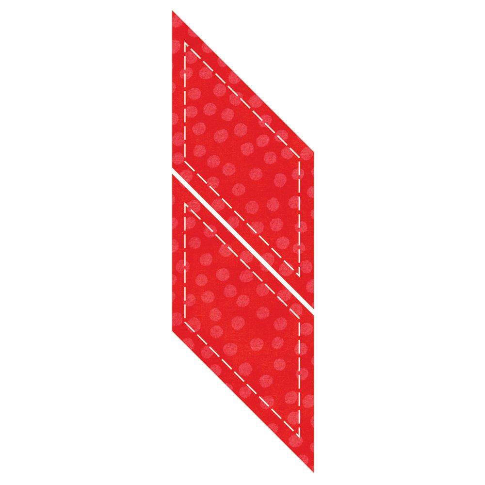 AccuQuilt Go Fabric Cutting Dies It Fits, Parallelogram 553-18