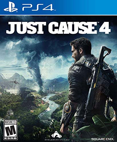 Just Cause 4 - PS4 [Digital Code] (Cause Just Video Game)