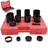 Custpromo 14 Pc Professional Master Ball Joint Remover Installer Adaptors Kit Receiving Tube