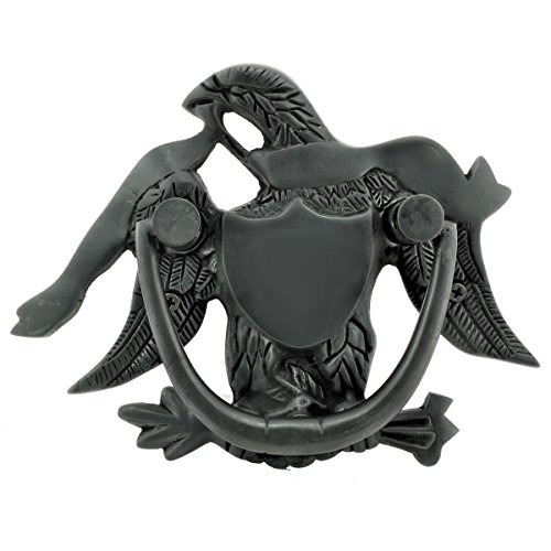 Renovator's Supply Liberty Eagle Door Knocker Brass Oil Rubbed Bronze Door Knocker for Front Door