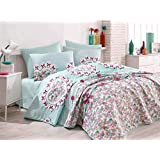 Epouj Home Single XL Quilt Cover Set (DE) - Duvet Cover: 155 x 200 cm Pillowcase: 80 x 80 cm (1 Piece)