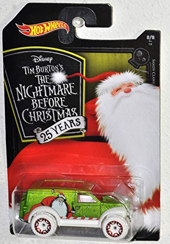 - Hot Wheels 2018 Nightmare Before Christmas 25th Sandy Claws - Power Panel