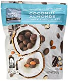 Edward Marc Chocolatier Coconut Almonds Dark Chocolate 32 oz. (2 bags of 32 oz.)