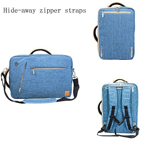 Shockproof computer bag laptop messenger handbag 15.6'''' black - 2