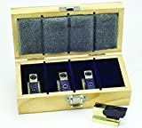 Palmgren 9615504 4 Piece 3/4'' T-Slot Clamp Set with Wooden Storage Box