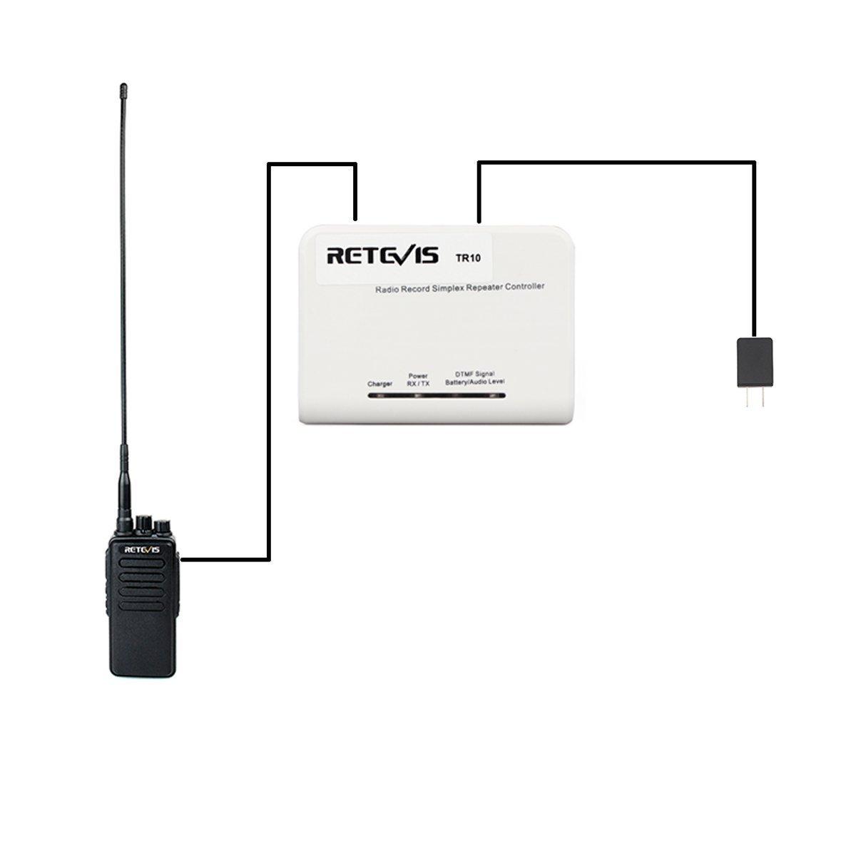 Amazon com: Retevis H-777 2 Way Radio Simplex Repeater