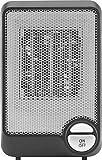 Insignia™ - Desktop Ceramic Heater - Black/Gray