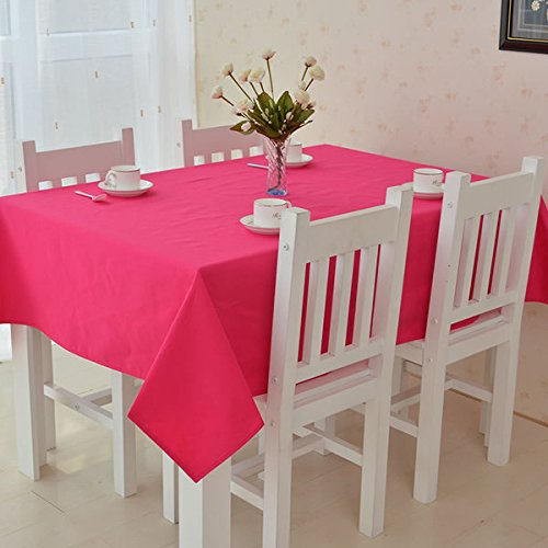 Charming All For You Rectangular Fabric Table Cloth,Rectangle Washable Dinner Picnic Table  Cloth,Assorted