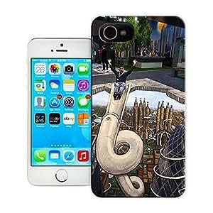 Unique Phone Case 3D Artchauffagiste bois Hard Cover for iPhone 4/4s cases-buythecase