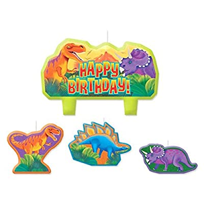 Prehistoric Party Birthday Candle Set: Kitchen & Dining