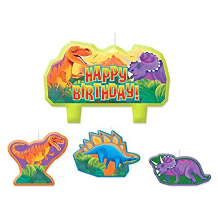 Prehistoric Party Birthday Candle Set Amscan 178010