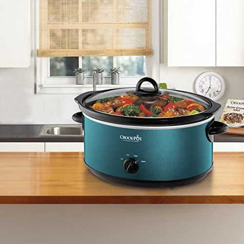 Crockpot SCV700-KT Deisgn to Shine 7QT Slow Cooker, Turquoise Salted Salad