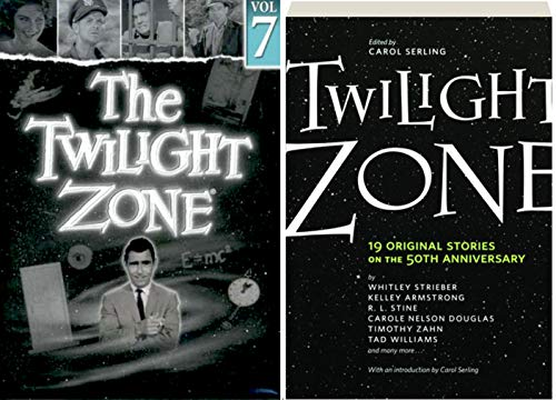 19 Original Stories The Twilight Zone: Rod Serling's landmark series DVD TV 4 episodes Hitch-Hiker / Shadow Play / Perchance to Dream / King Nine Will Not Return & Twilight Zone: The Book Bundle (Eye Of The Beholder Twilight Zone Original)