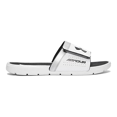5b0283dee5 Under Armour UA Playmaker VI Adjustable 9 White: Amazon.ca: Shoes ...