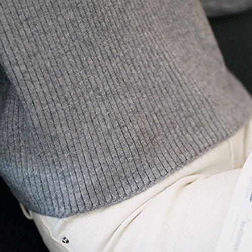 Lana suéter Invierno Delgado Suéter De ropa ropa jerseys 2019 Estilo Último sweater Gray Flojo Suéter Prendas Primavera suéter Punto Deportiva Otoño suéter Navidad jerseys Casual año 6qUC5wWxfP