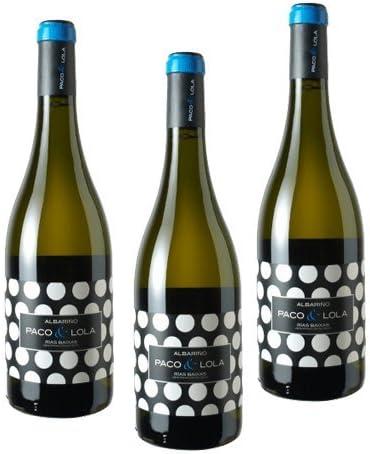Paco & Lola - Vino Blanco - 3 Botellas: Amazon.es: Alimentación y bebidas