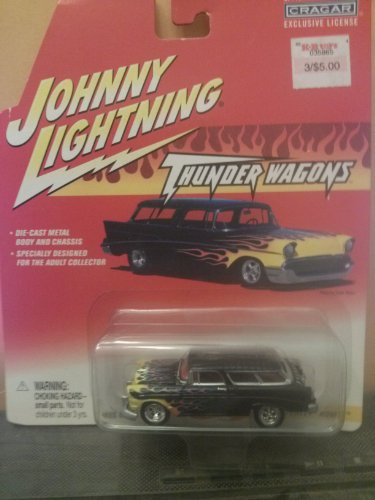 - Johnny Lightning Thunder Wagons 1956 Chevy Nomad