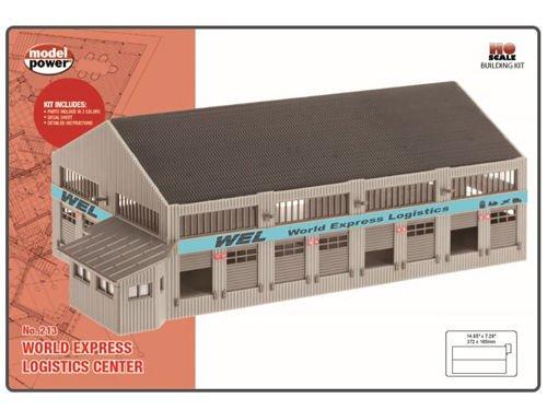 Model Power Mdp213 Ho Kit World Express Logistics Center