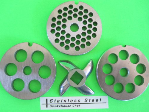 5 meat grinder plates - 8