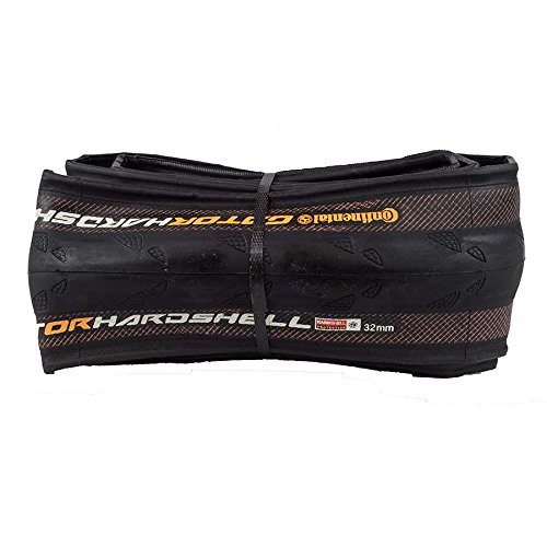 Continental Gator Hardshell Duraskin Bike Tire, Black, 700cm x 32 by Continental