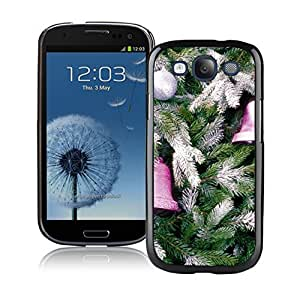 Best Buy Christmas Tree Decoration Of Jingling Bell Black TPU Phone Case For Samsung Galaxy S3,Samsung I9300 Cases